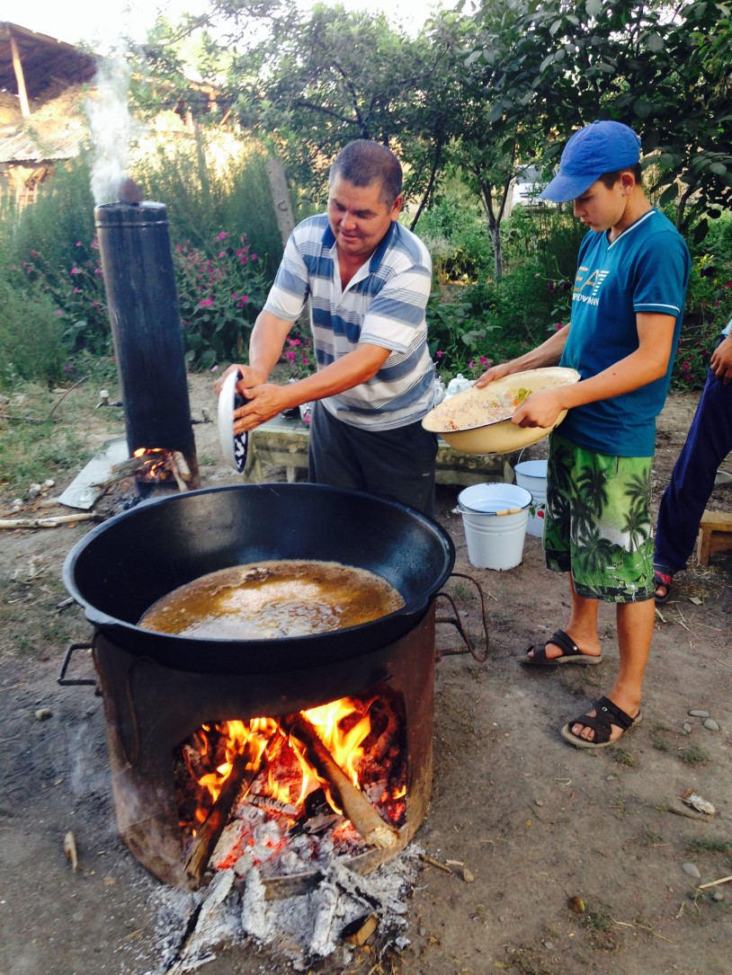 2015-07-14 Cooking on The Fire (story)
