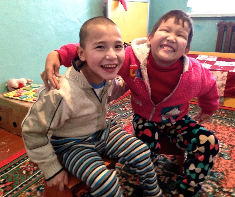 2015-03-25 Children's Home Two Boys Very Happy (story)
